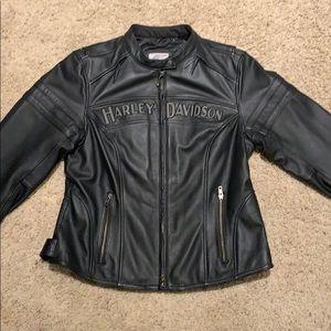 Harley Davidson miss enthusiast 3-1 leather jacket